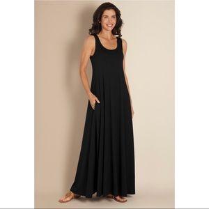 Soft Surroundings Santiago Maxi Dress Size Medium